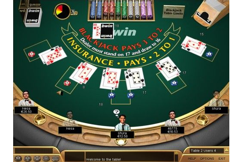 Play Blackjack Free Online Or For Real Money At HighNoon ...