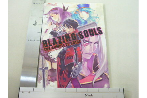 BLAZING SOULS Complete Game Guide Japanese Book Play ...