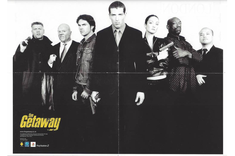 The Getaway for Playstation 2 PS2 - Passion for Games ...