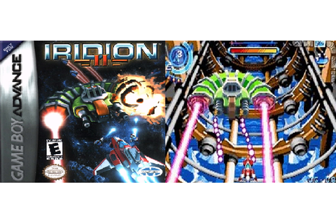 Retro Game of the Week 087: Iridion 2 (GBA)