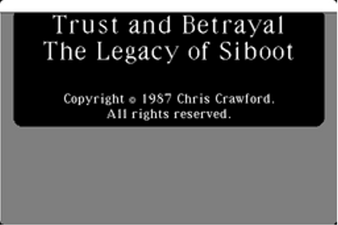 Trust and Betrayal: The Legacy of Siboot - The Cutting ...