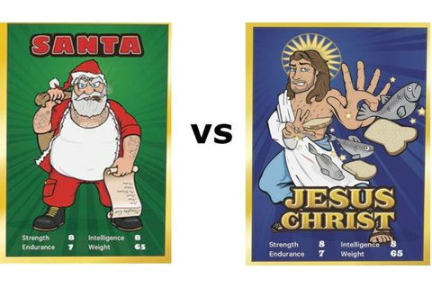 Santa vs Jesus, Oh the Blasphemy!