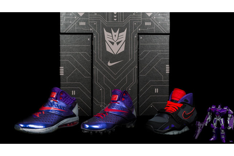 Nike designs Megatron sneakers for the Decepticon in you ...