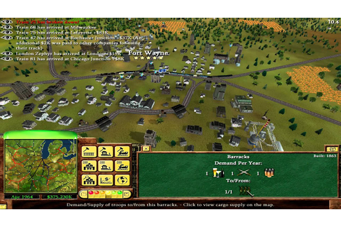 Good Ol' Times Railroad Tycoon 3 - YouTube