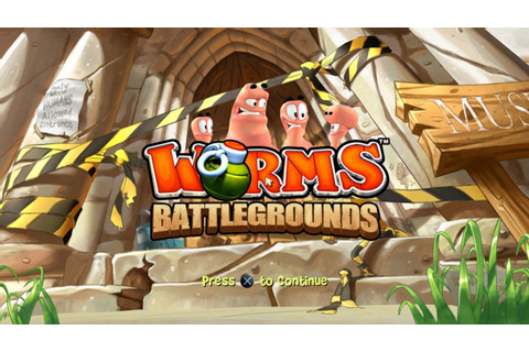 Worms™ Battlegrounds Game | PS4 - PlayStation