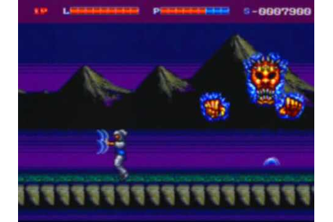 Shadow Blasters Game Sample - Genesis/MD - YouTube