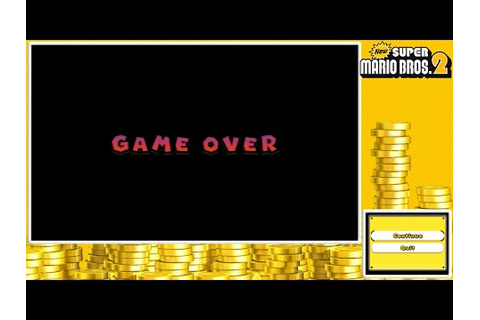 New Super Mario Bros. 2- The Elusive Game Over Screen ...