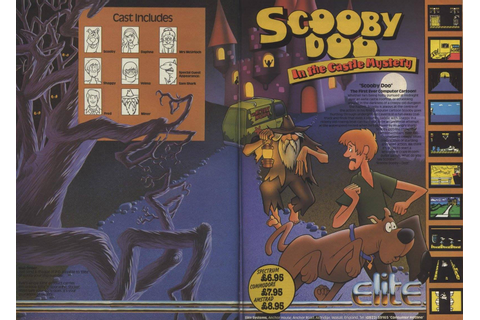 Scooby Doo In The Castle Mystery Game That Never Got Released