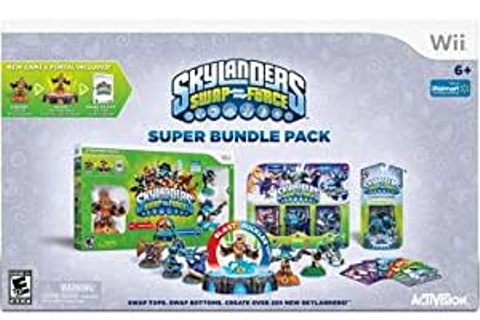 Amazon.com: Skylanders SWAP Force Super Bundle Pack For ...