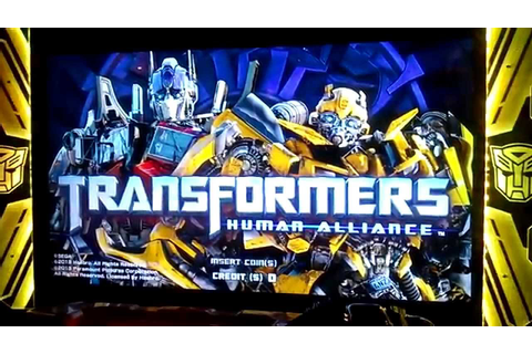 Transformers Human Alliance (Arcade) (2013) - YouTube