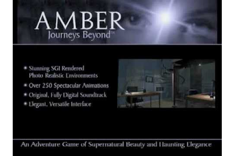 Amber : Journey's beyond (1996) PC demo trailer & opening ...