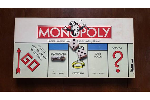 Vintage 1985 Monopoly, Parker Brothers, Board Games, # No ...