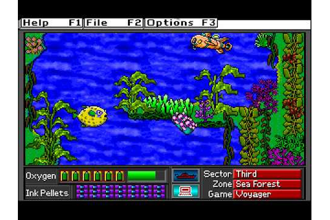 Operation Neptune (DOS): Part 6, Voyager Game - YouTube