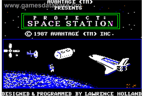 Project: Space Station - Apple II - Games Database
