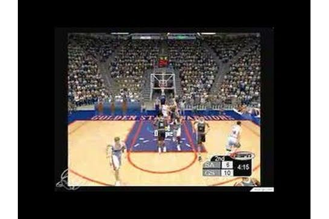NBA 2K3 Xbox Gameplay - YouTube