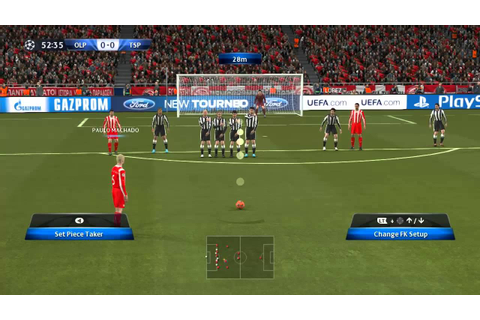 Pro Evolution Soccer 2014 (PC): Ολυμπιακός-ΠΑΟΚ - YouTube