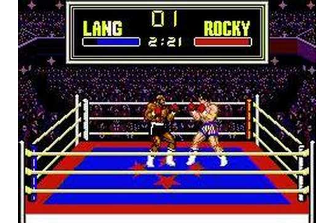 Rocky - Sega Master System Full Game - YouTube