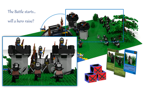 LEGO IDEAS - - Battles & Heroes - The Strategy Game