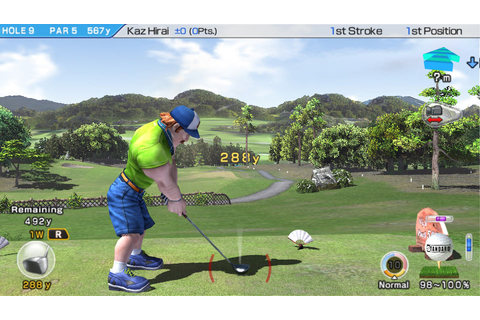 Amazon.com: Hot Shots Golf: World Invitational: Sony ...