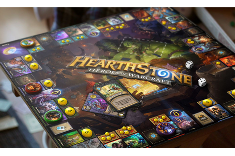 Hearthstone Board Game Concept on Behance | Board Games ...