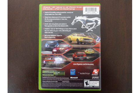 Cheats for ford mustang the legend lives for xbox