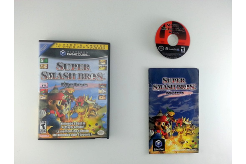 Super Smash Bros. Melee game for Gamecube (Complete) | The ...