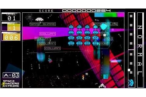 Game Review: Space Invaders Extreme (PSP) | DCEmu Reviews ...