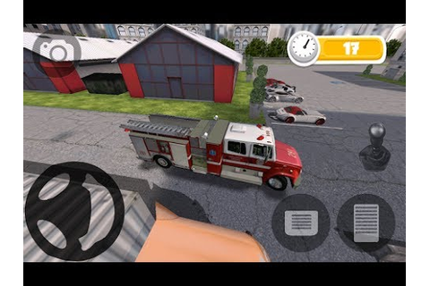 FIRE TRUCK PARKING HD Android GamePlay #2 (HD) - YouTube