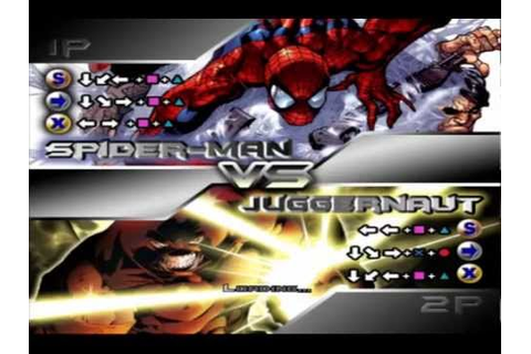X-men Mutant Academy 2 Spider-Man Arcade - YouTube