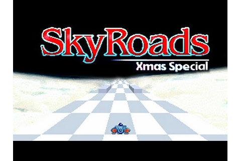 LGR - SkyRoads Xmas Special - DOS PC Game Review - YouTube