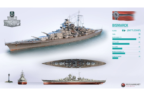 Bismarck | World of Warships Wiki | FANDOM powered by Wikia