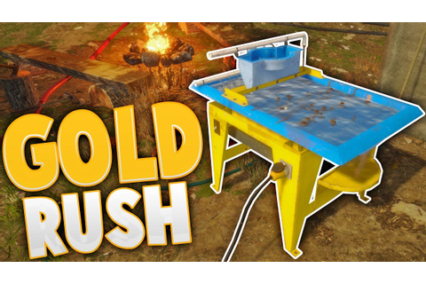 Gold Rush - Fully Automated Gold Mining! - The Wave Table ...