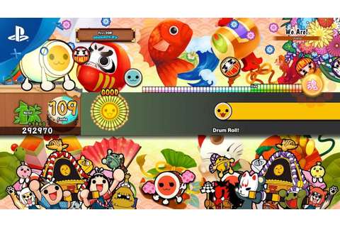 Taiko no Tatsujin: Drum Session Marches to PS4 November 2 ...