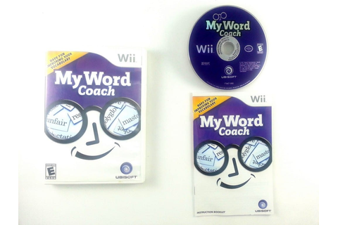 My Word Coach game for Wii (Complete) | The Game Guy