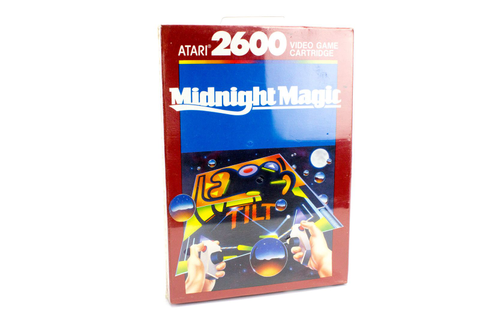 Midnight Magic for the Atari 2600 / 5200 / 7800, UK PAL ...