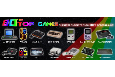 Indie Retro News: 80's Top Games - OVER 2000 Retro games ...