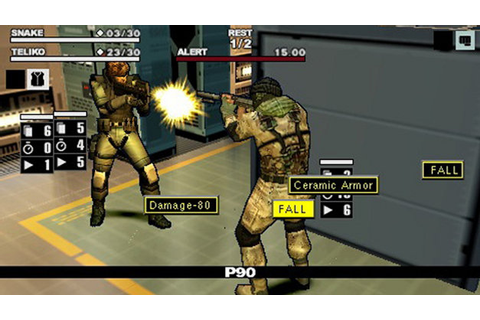 Metal Gear Acid 2 Game | PSP - PlayStation