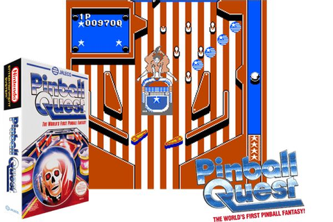 Pinball Quest (USA) Nintendo NES Classic Game