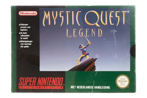 Mystic Quest Legend - Super Nintendo [SNES] Game Compleet ...