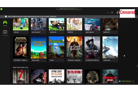 GEFORCE NOW GAMES LIST play the latest games on a £200 ...
