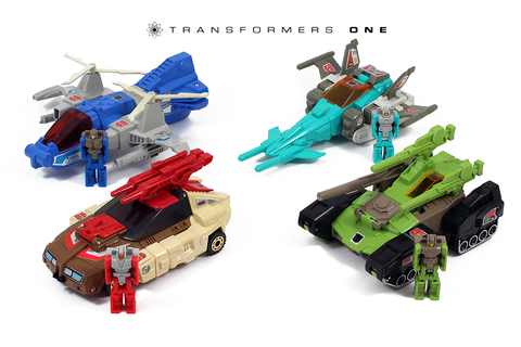 Square One: Hasbro G1 Autobot Headmasters Gallery
