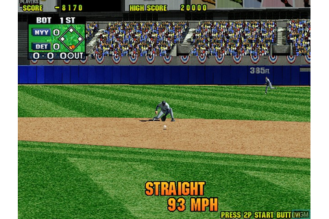 Super Major League '99 for Naomi - The Video Games Museum