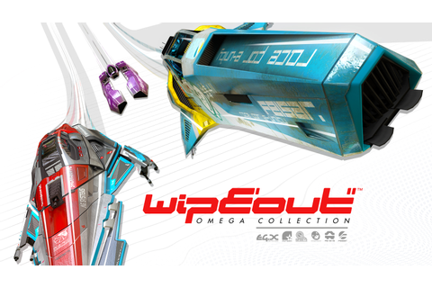 WipEout Omega Collection Game | PS4 - PlayStation