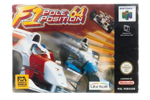 F1 Pole Position 64 - Nintendo 64 [N64] Game Compleet ...