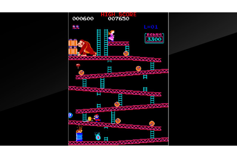 Arcade Archives Donkey Kong (Switch eShop) News, Reviews ...
