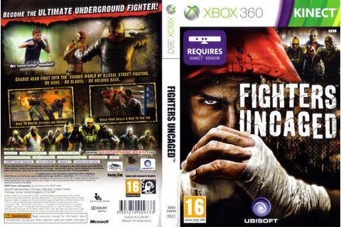 Games Covers: Cover Fighters-Uncaged - Kinect - Xbox 360