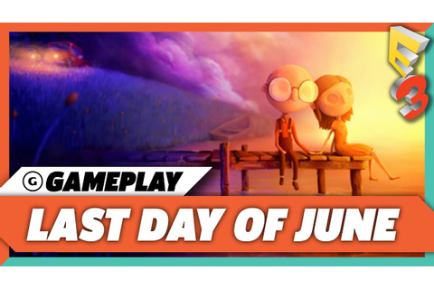 8 Minutes of Last Day of June Gameplay | E3 2017 - YouTube
