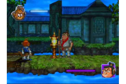Monkey Magic Game Sample - Playstation - YouTube