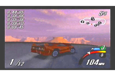 Top Gear Overdrive N64 gameplay part 1 - YouTube