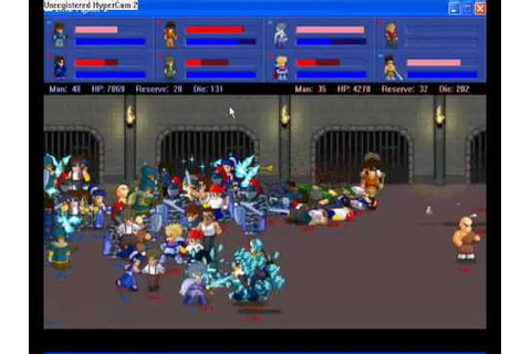 Little Fighter 2 battle! - YouTube